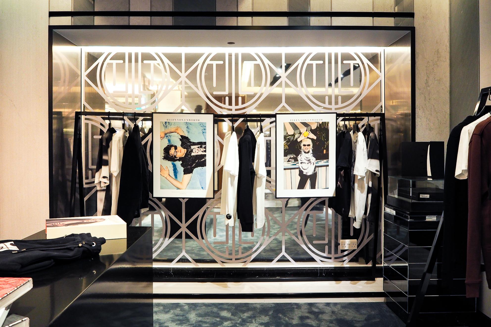 Fashion display, retail design, Limitato