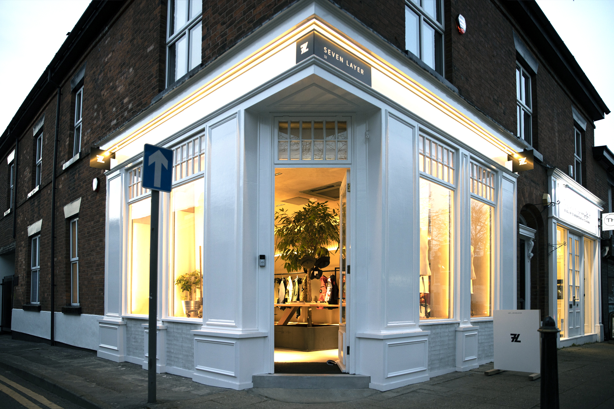 shop design, Alderley Edge, Seven Layer